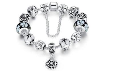 Silver Bracelet by Presentski Charms and Bangles Bracelet