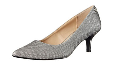 Silver Shoes by J.Renee Women's Gianna Dress Pump