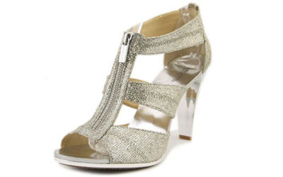 Silver Shoes by MICHAEL Michael Kors Women's Berkley T-Strap